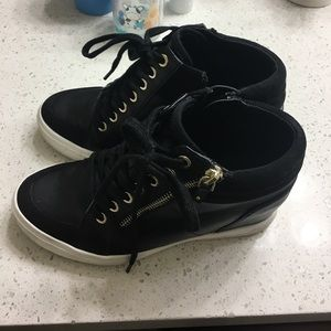 8c9506caf39b Aldo Shoes - Aldo Kaia Lace up wedge sneakers