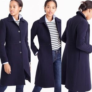 J.Crew DOUBLE-CLOTH METRO COAT WITH THINSULATE®
