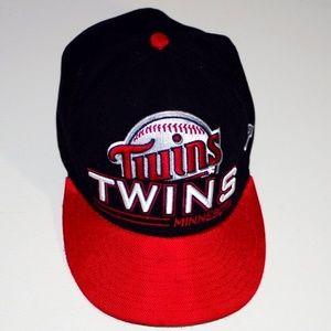 dce432455 NWOT RARE Design MN Twins Official Sports Cap Hat