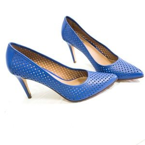 """Halogen Blue """"Mandie"""" Pointy Toe Pump Size 10M"""