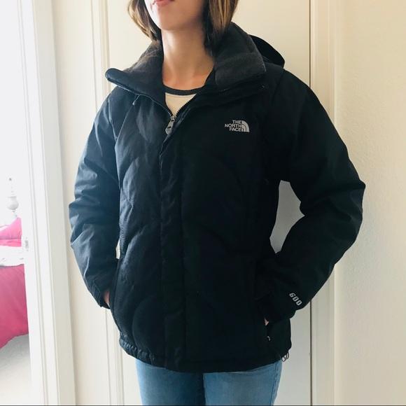 95fe72420 North Face Prodigy 600 Down Black Ski Jacket