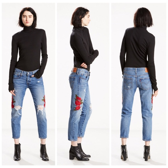 f0bdef06 Levi's Jeans | Levis 501 Cropped Taper | Poshmark