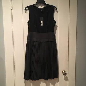 Marc by Marc Jacobs Tara Silk Combo A-Line Dress