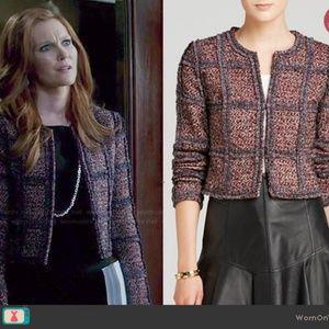 Abby Scandal's DVF Fuchsia Fantasy Tweed Jacket 0