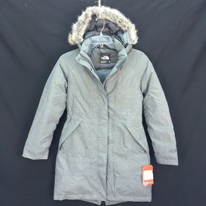 NWT The North Face Women's Arctic Parka Sz M Gray NWT