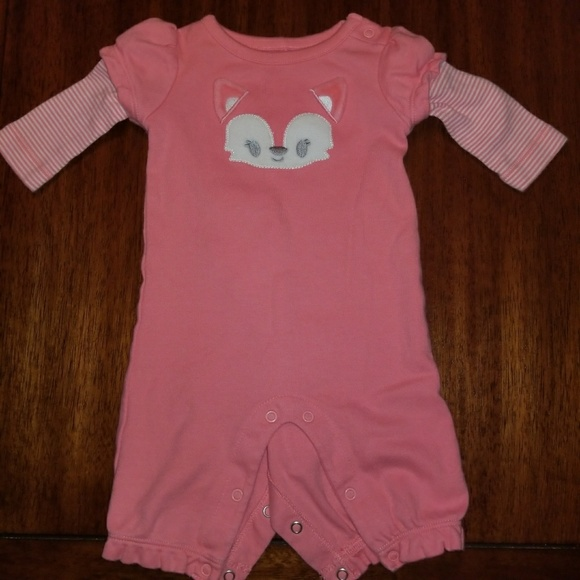 ab0f6f743a7 Gymboree Other - Gymboree Fox 1-Piece Baby Girl Bodysuit