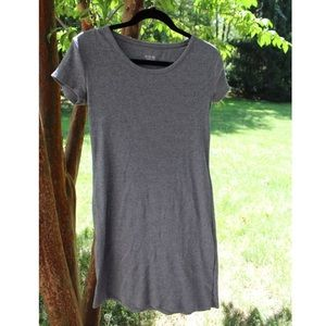 Mossimo Supply Co. grey Ribbed Bodycon Dress