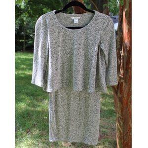 Bar III grey Sweater Dress