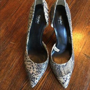 Mossimo D'orsay Snakeskin Heels