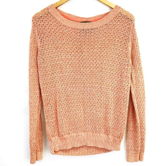80% off Anthropologie Sweaters - ANTHRO Guinevere pink and gold ...