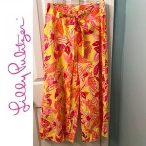 LILLY PULITZER Wide Leg Pants Size 0