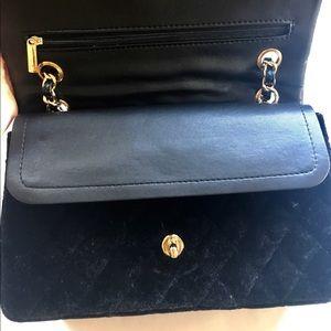 Handbags - Suede quilted Crossbody
