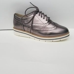 Gun Metal Oxfords