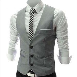Other - Grey Waistcoat / Suit Vest