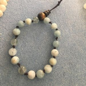 Jewelry - Mala Handmade Aquamarine and Tigerseye