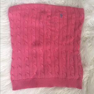 7e4df958593 Ralph Lauren Tops - Ralph Lauren Cable Knit Sweater Tube Top SZ M
