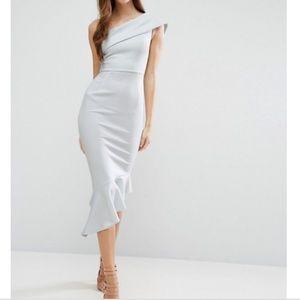 NWT ASOS | One Shoulder Cocktail Dress