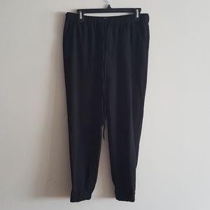 Merona Black Dressy Joggers Size S