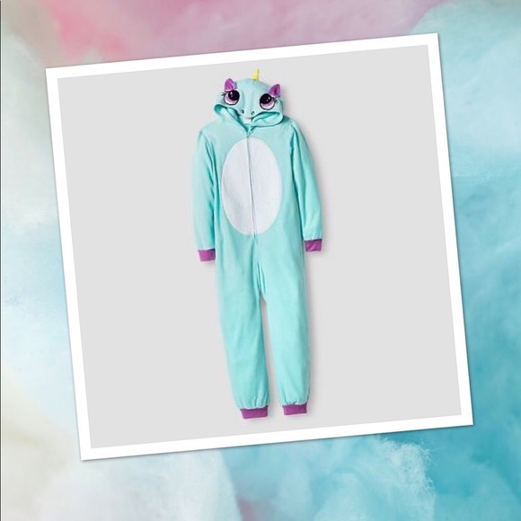 5e2072dd373eb4 cat & jack Pajamas | Unicorn Onesie Girls 78 | Poshmark