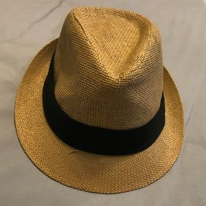 Accessories - Straw Trilby Hat