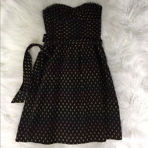 Trina Turk Black Cocktail Dress SZ 6