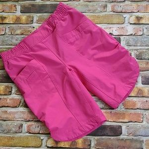 Girl's Columbia Pink Shorts L