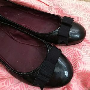 Marc by Marc Jacobs Patent Leather Ballet Flats