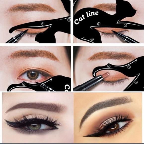 Makeup New List Cat Eye Stencils Poshmark