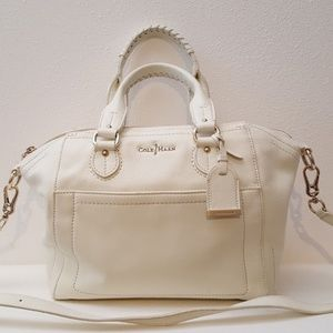 Cole Haan Cream Satchel