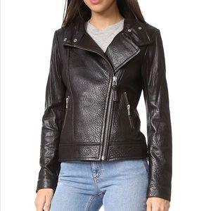 NWT Mackage Lisa Pebbled Leather Jacket