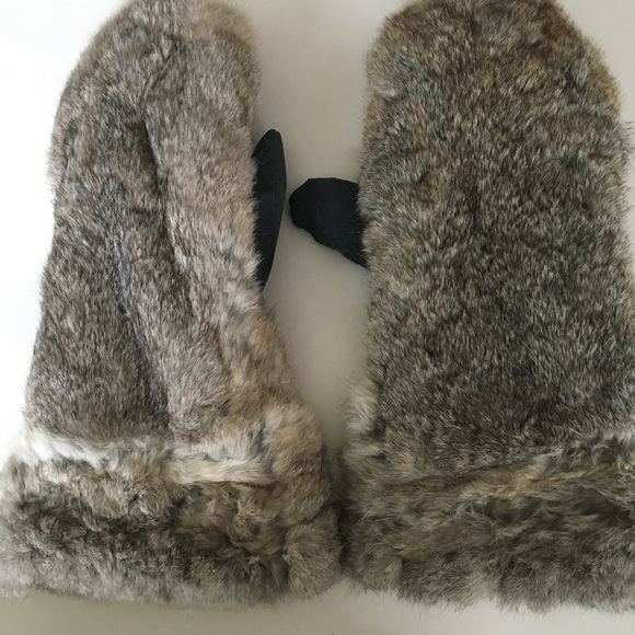 2c1d152f2928c MAD BOMBER Accessories - Fur rabbit gloves by mad bomber