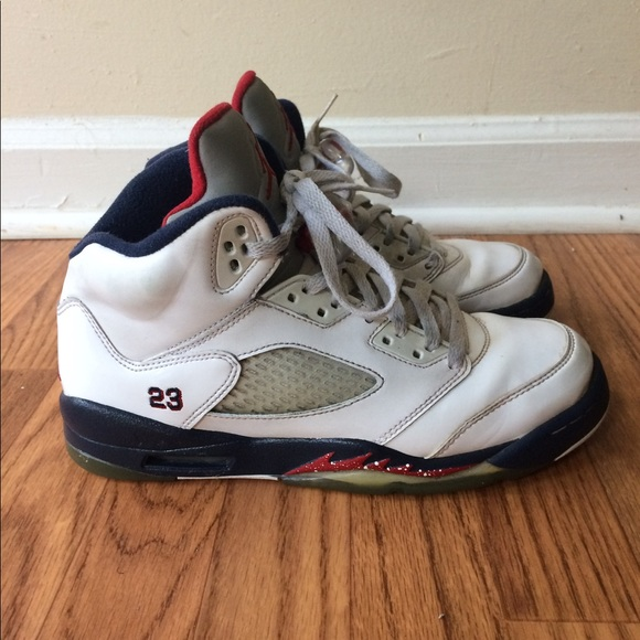 3d73c781aa5e Air Jordan Other - Nike Air Jordan 5 Retro GS Olympic 440888-103