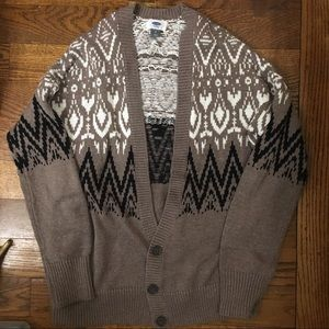 Sweaters - NWOT Old Navy Fair isle Cardigan