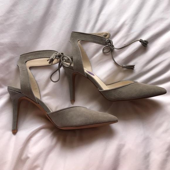 06d670abcda Vince Camuto Bomina Mist Grey Pointy Toe Heels NWT