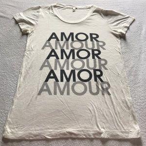 J. Crew Amour tee.