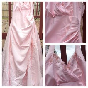 💕Pink Dress Gown