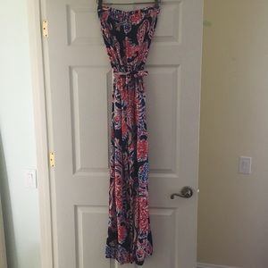 Lilly Pulitzer Farrah Strapless Jumpsuit - small