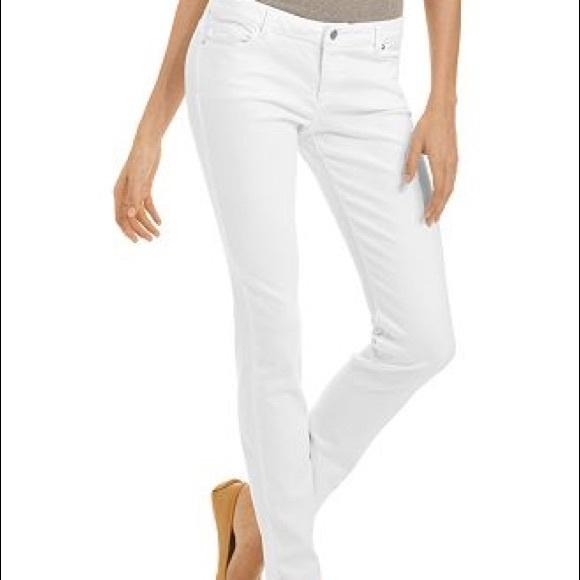 Michael Kors Denim - ✨HP✨ Michael Kors | White Skinny Jeans