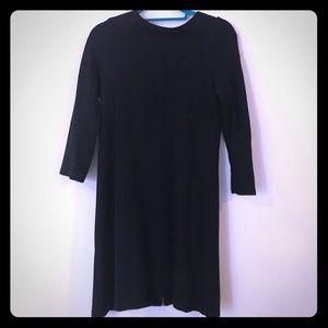 SALE: Zara Black Dress with Back Zipper