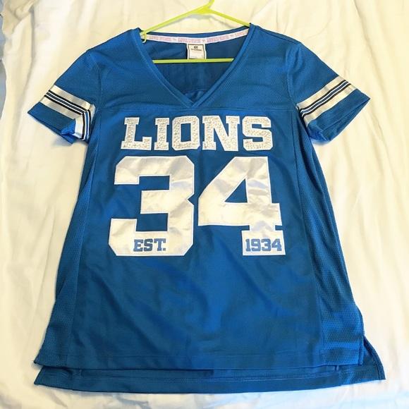 womens detroit lions jersey