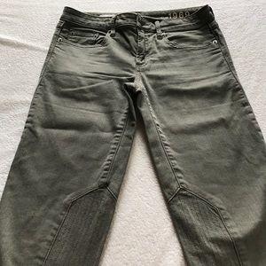 GAP Jeans - GAP gray motorcycle skinny jeans.