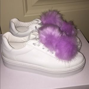 ASOS Pom Pom sneakers
