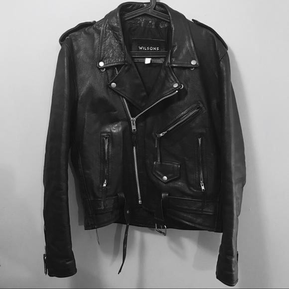880ba02b8 Wilson's cafe racer motorcycle biker jacket