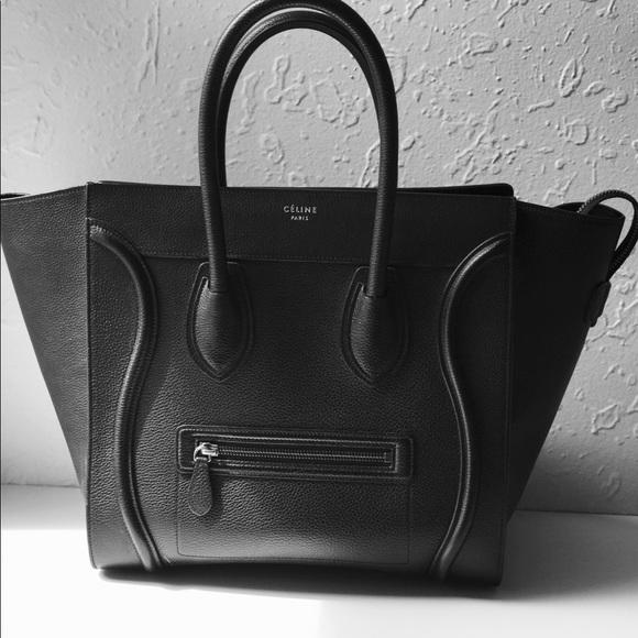 31fafea712d Celine Bags   Black Phantom Medium Bag   Poshmark