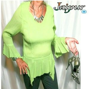 Jaipur unique green dress top
