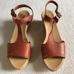 Hush Puppies sandals.