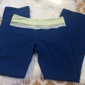 blue lululemon pants size 8