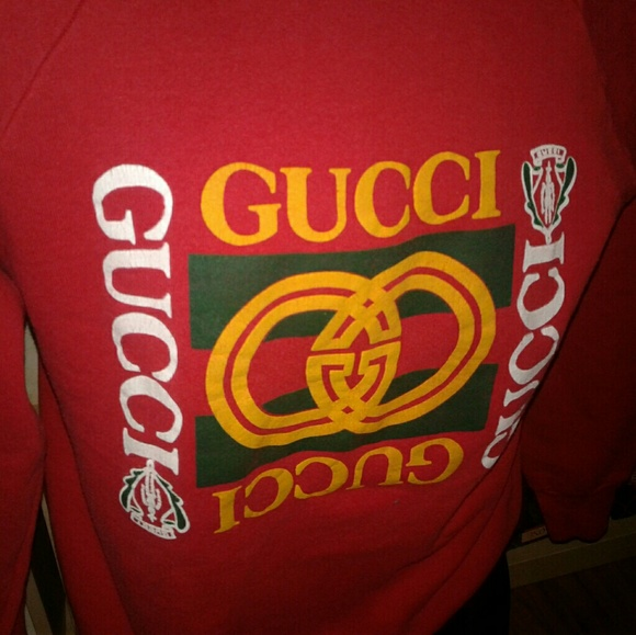 d063038ca55 Gucci Other - Vintage 90s Gucci bootleg sweater