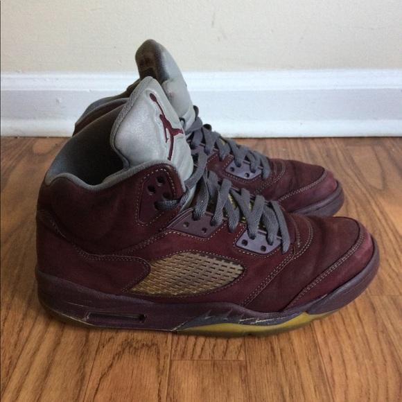 2d6c9b27b79b8d Air Jordan Other - Nike Air Jordan Retro 5 V LS Deep Burgundy Red