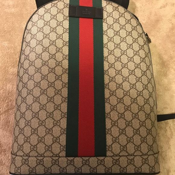b071f59a21f168 Gucci Bags | Gg Supreme Backpack | Poshmark